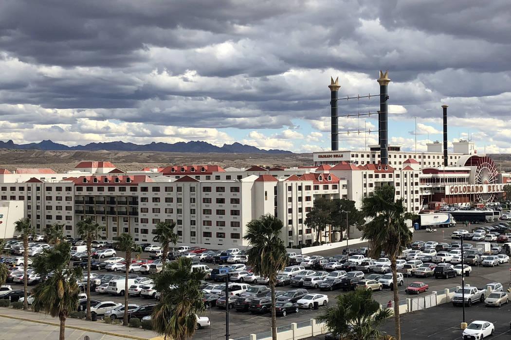 Colorado Belle Hotel & Casino Resort en Laughlin el 17 de marzo de 2018. (Todd Prince / Las Vegas Review-Journal)