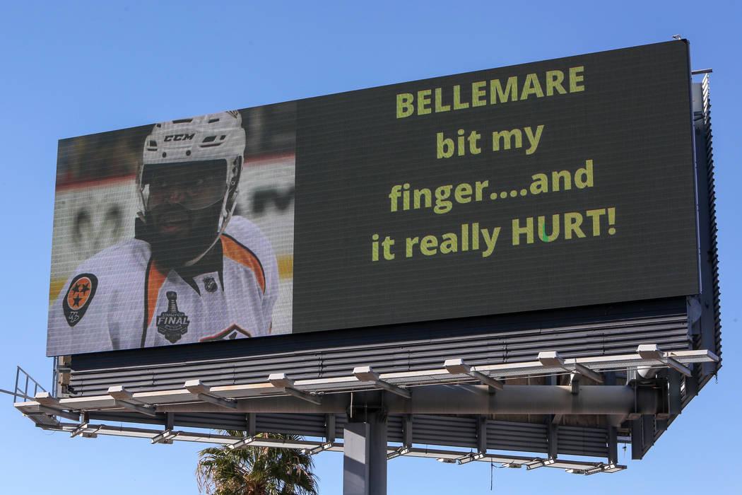 Después de una acusación del defensa de Nashville, P.K. Subban alegando que el delantero de Las Vegas, Pierre-Edouard Bellemare, le mordió un dedo durante un juego de hockey de la NFL la noche ...