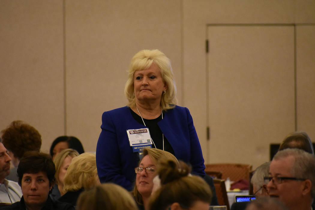 La abogada Lynda Shely fue una de las presentadoras de la conferencia 'The Power of Wellness' (El poder del bienestar), una de las sesiones más concurridas. Sábado 26 de enero de 2019 en el ...