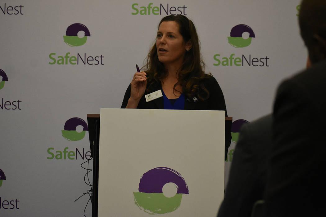 """""""Estamos más que sorprendidos por el éxito hasta la fecha de PS417"""", dijo Liz Ortenburger, CEO de SafeNest. Jueves 24 de enero de 2018 en la oficina de SafeNest. Foto Anthony Avellaneda / El ..."""