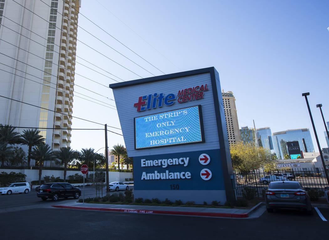 Elite Medical Center en 150 E. Harmon Ave. en Las Vegas el viernes 25 de enero de 2019. Chase Stevens Las Vegas Review-Journal @csstevensphoto