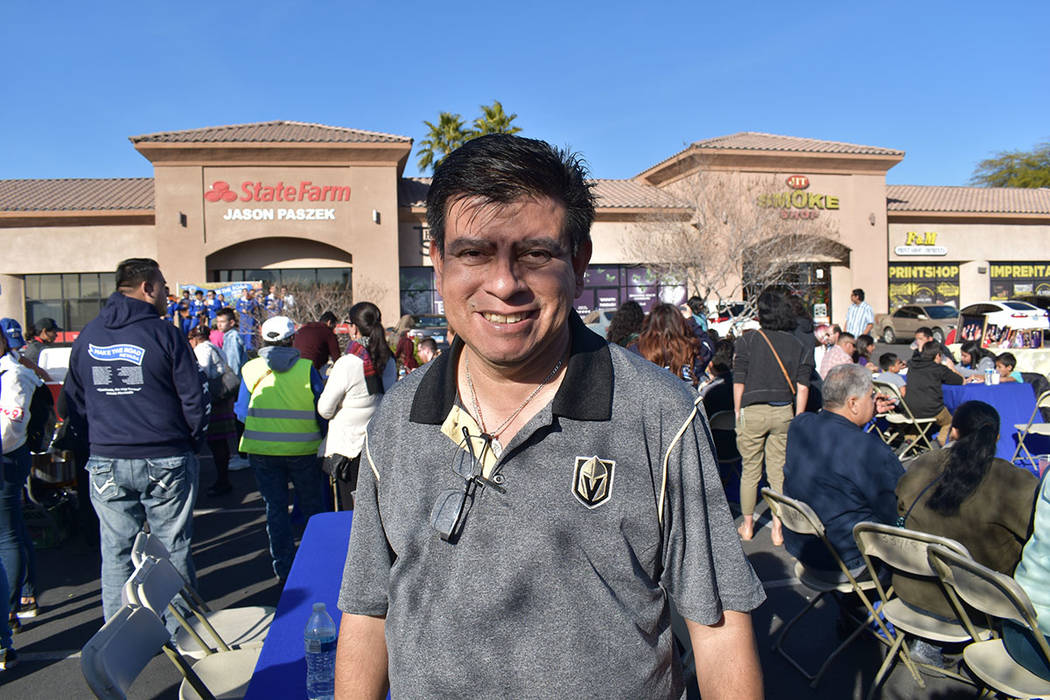 Isaac Barrón, concejal del Distrito 1 en el ayuntamiento municipal de North Las Vegas. Sábado 26 de enero de 2019, en el 4250 E. Bonanza Road, Suite 14. Foto Frank Alejandre / El Tiempo.