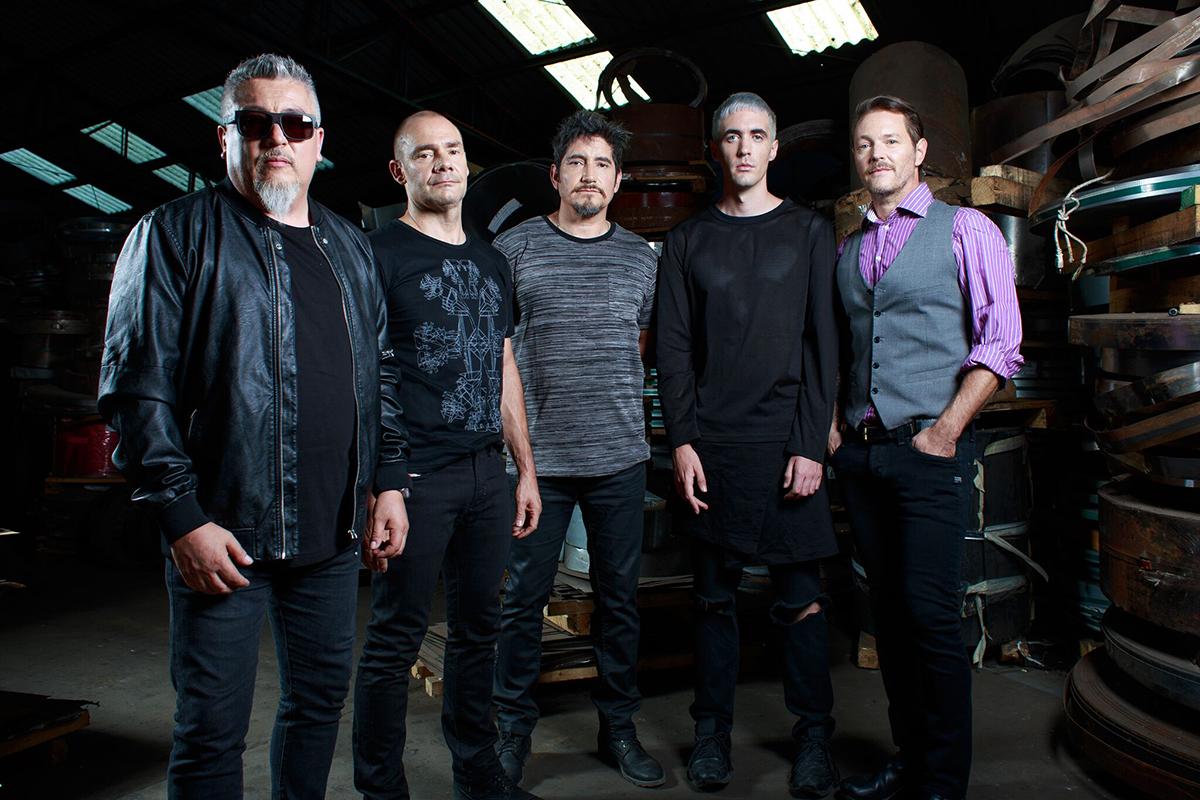 Los miembros de La Ley se han reencontrado para formar la banda de rock Diacero, de la cual se desprende su primer disco llamado 'Topografía'. [ Foto Cortesía ]