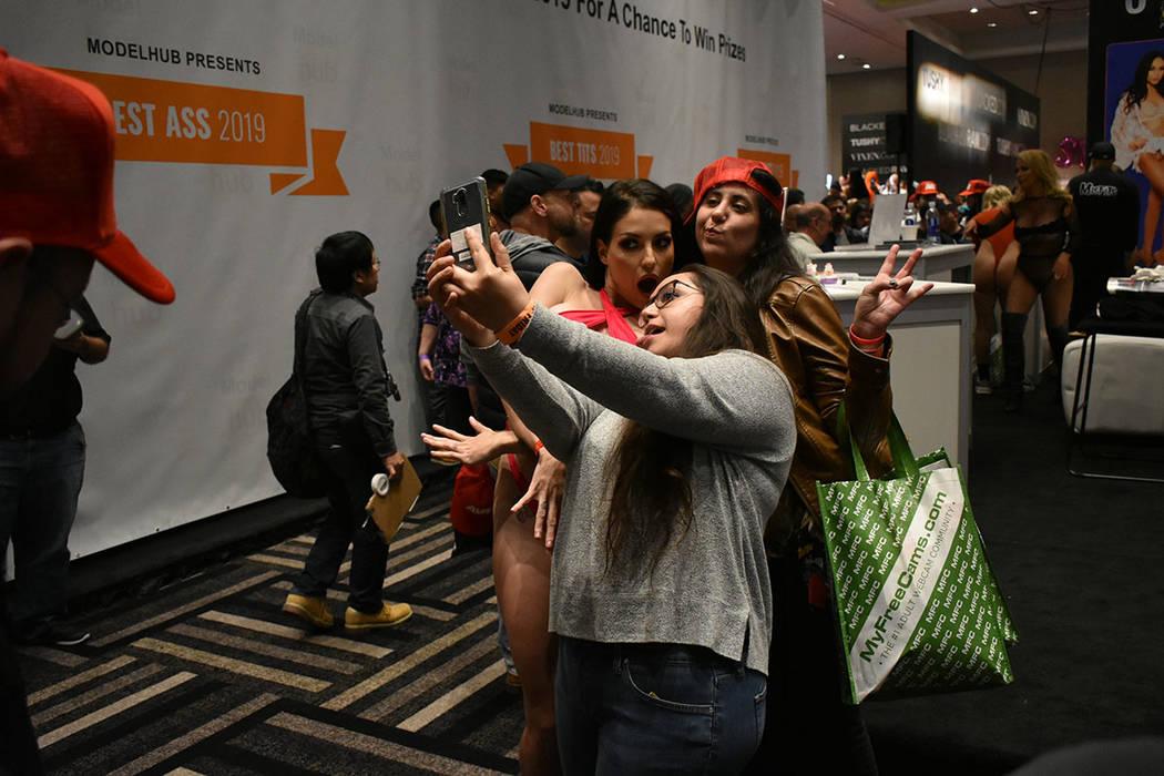 La Expo AVN ha demostrado que la industria del entretenimiento para adultos sigue creciendo cada año. Viernes 25 de enero de 2019 en el hotel y casino Hard Rock. Foto Anthony Avellaneda / El Tiempo.