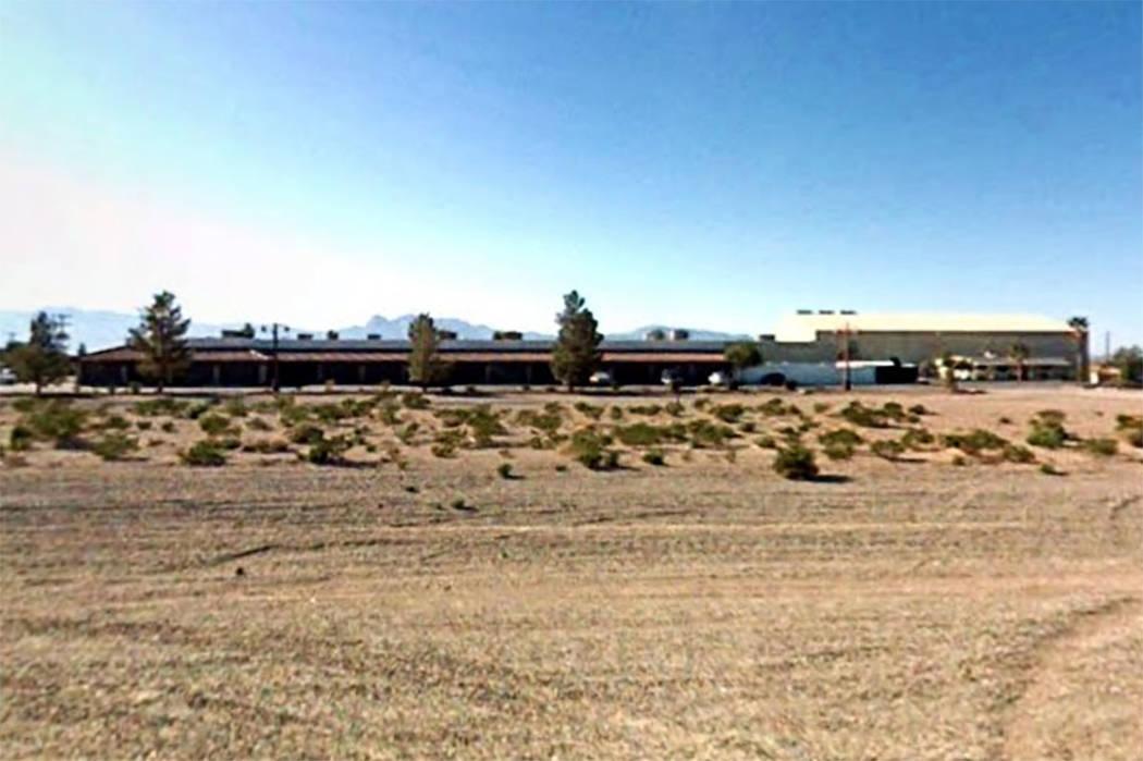Academia Noroeste en el Valle de Amargosa, Nevada (Google)