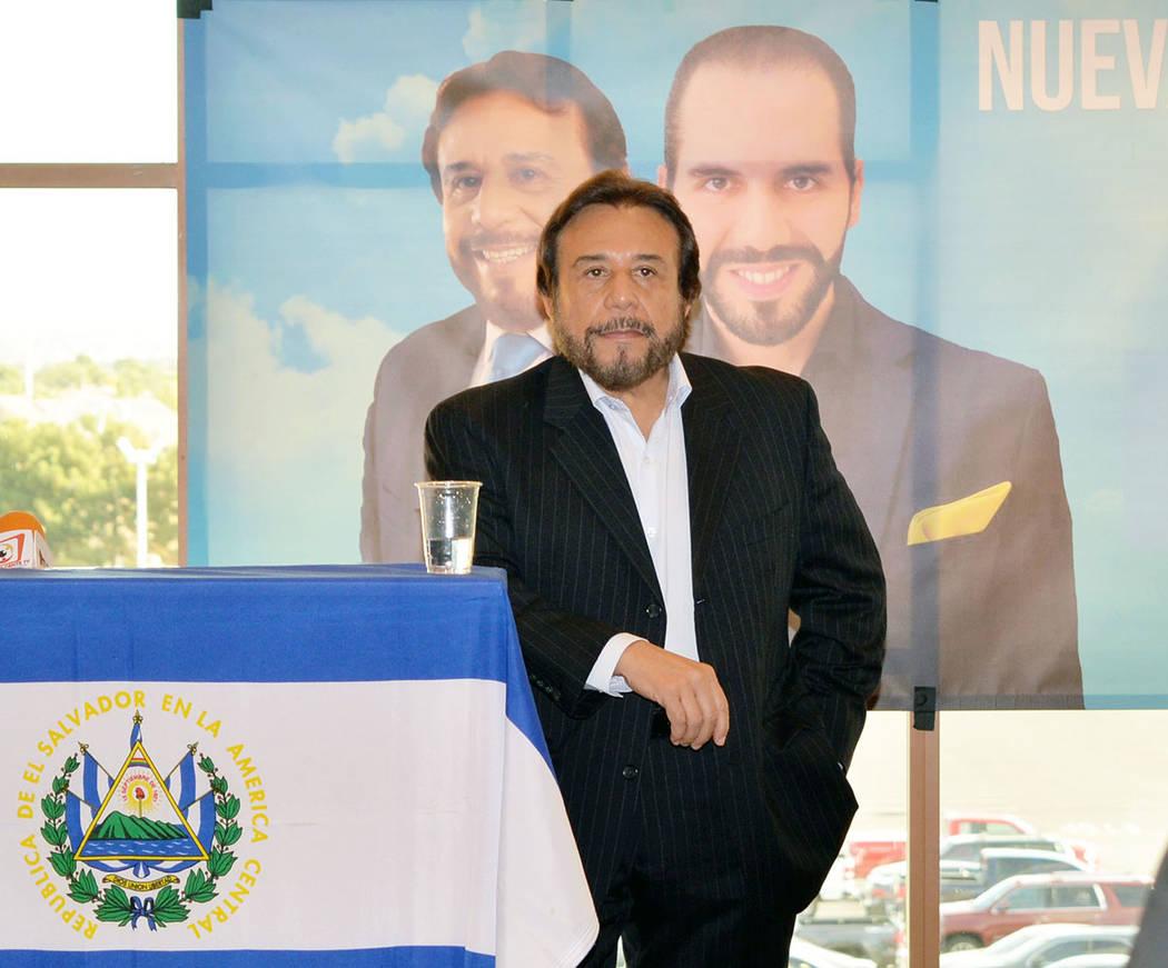 Archivo.- Dr. Félix Ulloa, vicepresidente electo de El Salvador. Foto Frank Alejandre / El Tiempo.
