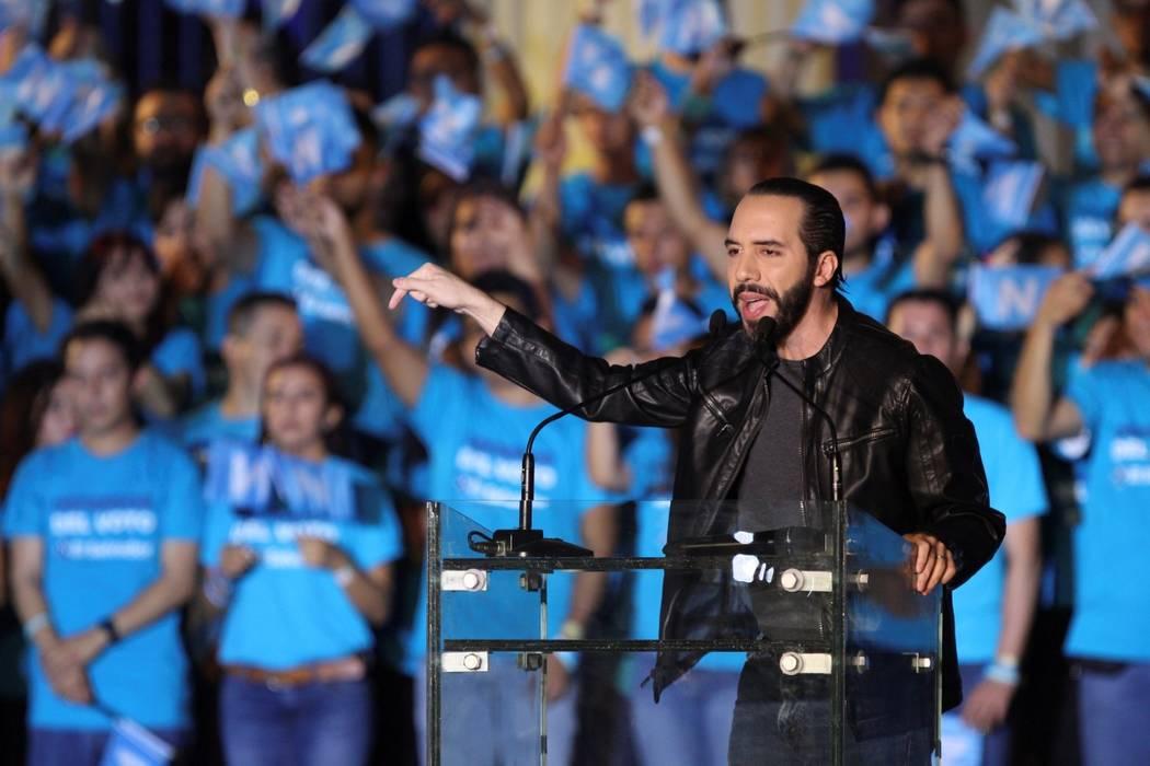 Archivo.- Nayib Armando Bukele presidente electo de El Salvador. Foto AP.