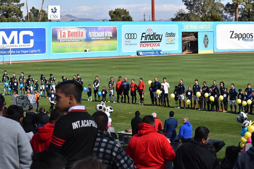 El Cashman Field fue huésped de lo mejor del fútbol amateur local. Domingo 10 de febrero de 2019, en el Cashman Field. Foto Frank Alejandre / El Tiempo.