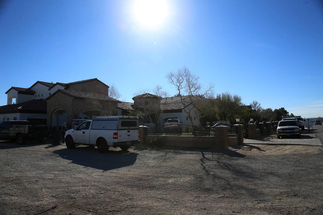 La casa en 4750 N. Jensen St., en Las Vegas, viernes 1 de febrero de 2019. Erik Verduzco / Las Vegas Review-Journal) @Erik_Verduzco