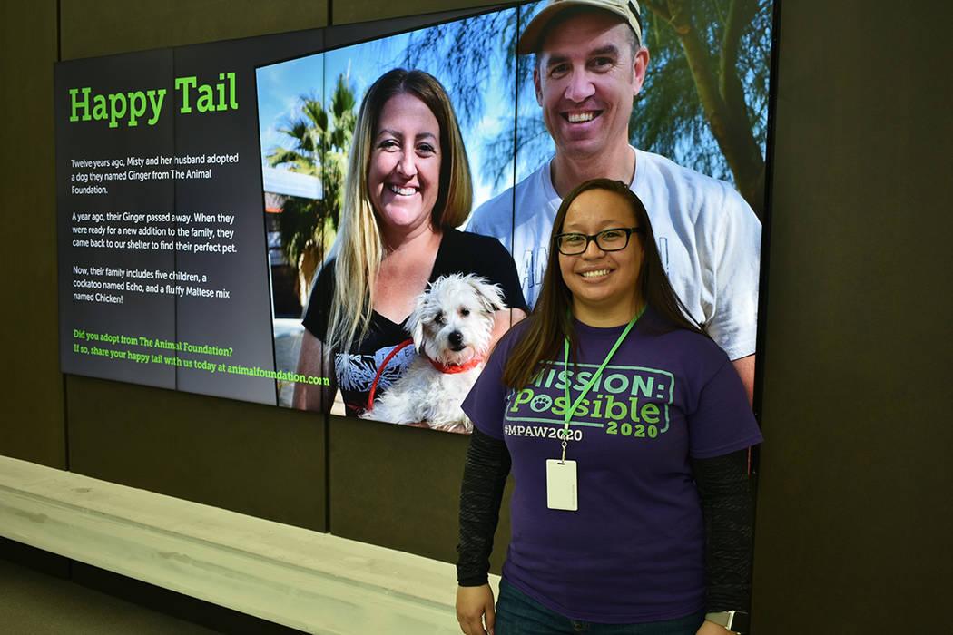La gerente de adopciones de 'The Animal Foundation', Brenda Arceo, respondió a las preguntas de El Tiempo sobre el nuevo Centro de Adopción de la Fundación Engelstad. Martes 12 de febrero d ...