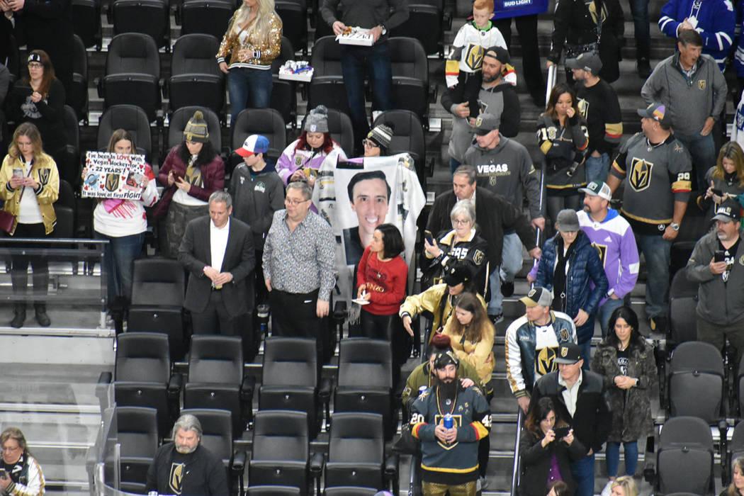 Los aficionados que asistieron al partido entre Vegas Golden Knights vs Toronto Maple Leafs también disfrutaron de distintas actividades por motivo del Día de San Valentín. Jueves 14 de febrero ...
