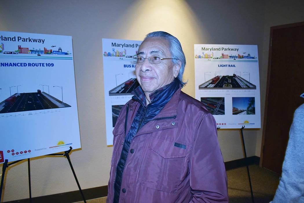 Luis Bonilla participó en el foro de información organizado por el RTC. Miércoles 20 de febrero de 2019 en el edificio administrativo de la Comisión Regional de Transporte del Sur de Nevada. F ...
