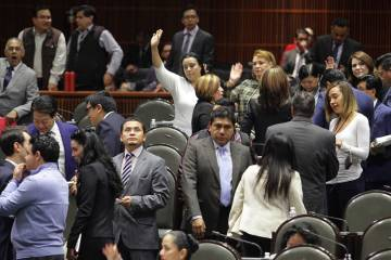 ARCHIVO. México, 26 Feb 2019 (Notimex-Guillermo Granados).- La Comisión de Puntos Constitucional de la Cámara de Diputados avaló por unanimidad en sus términos la minuta de reformas constituc ...