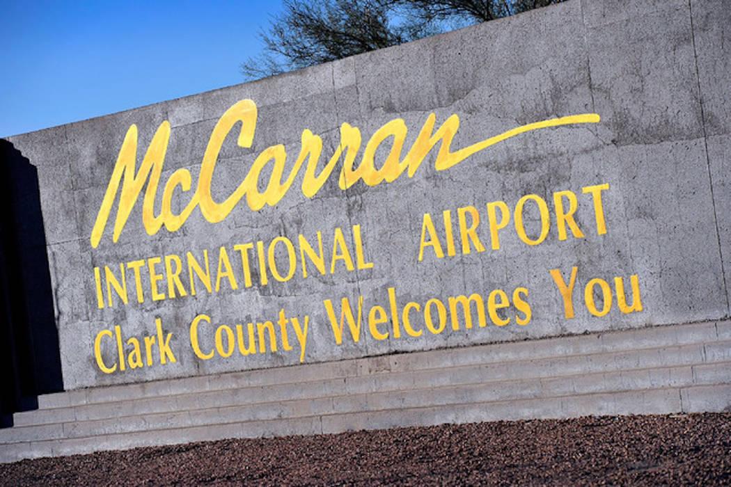 Aeropuerto Internacional McCarran en Las Vegas (Las Vegas Review-Journal · El Tiempo)