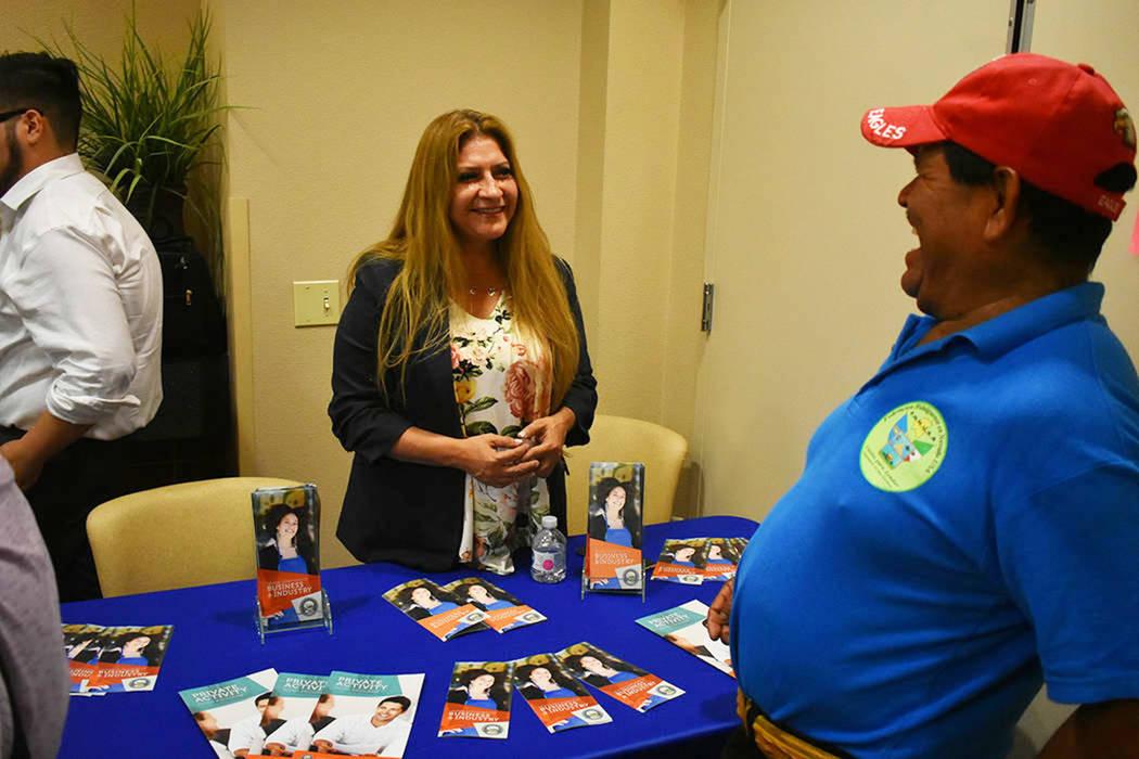 ARCHIVO.- Uno de los recursos más importantes que existen en Nevada para prevenir el fraude es la Oficina de Asuntos al Consumidor para Minorías, dirigida por Miriam Lira-Hickerson. Miércoles 8 ...