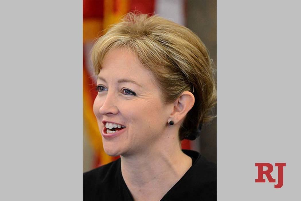 La jueza de distrito, Linda Bell, solicitó a la Legislatura de Nevada seis nuevos jueces de la Corte Familiar para el Condado de Clark, citando calendarios judiciales sobrecargados. (Las Vegas Re ...