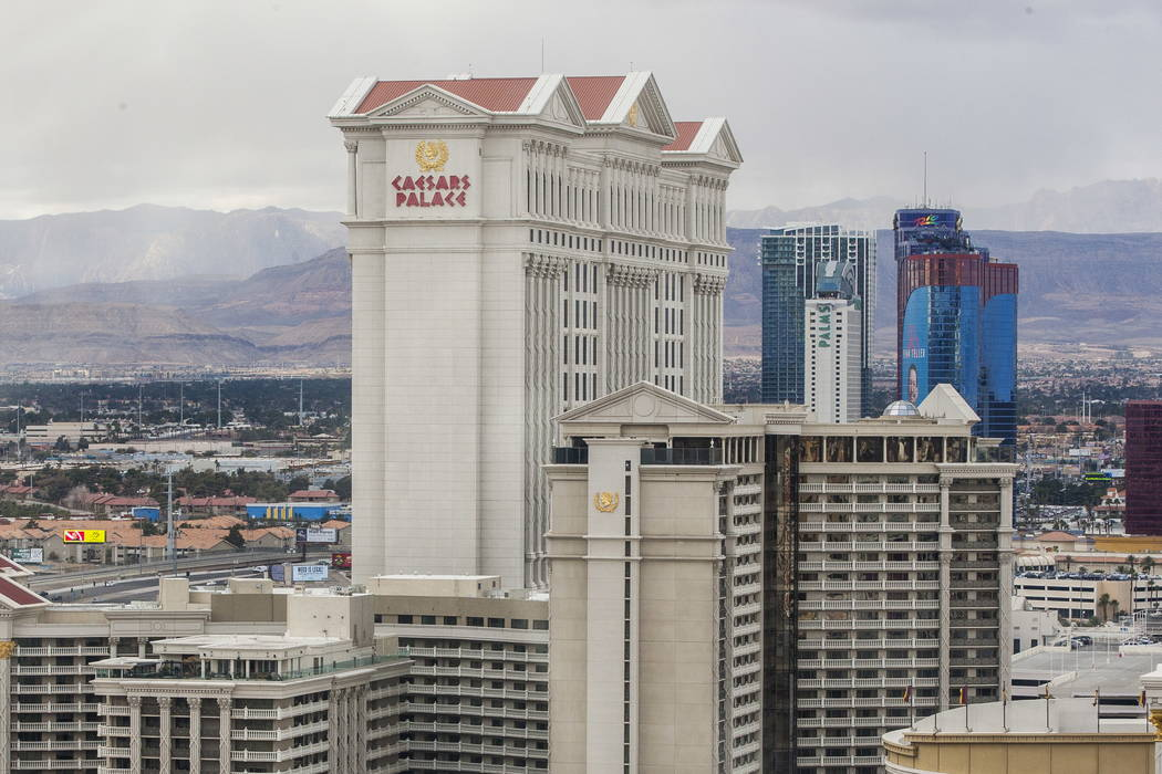 Caesars Palace on the Las Vegas Strip. (Patrick Connolly/Las Vegas Review-Journal) @PConnPie