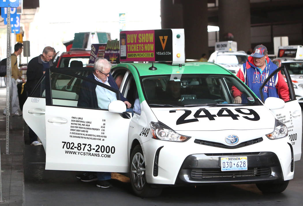 Después de medio siglo de servicio en Las Vegas, Frias Transportation está oficialmente en vías de salida luego de que la Autoridad Estatal de Taxicab aprobara la venta de sus activos. (Bizuaye ...