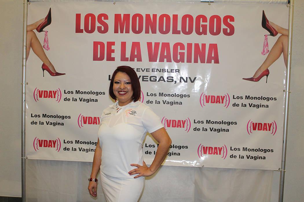 MaryChuy Valadez, coordinadora de la obra, explicó que los Monólogos fueron escritos en 1996 y desde entonces se presentan mundialmente. Sábado 2 de marzo de 2019 en biblioteca Flamingo. Foto C ...
