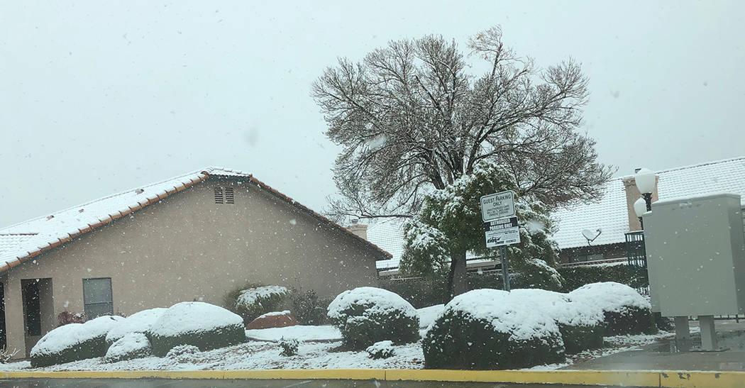 Durante varios días de febrero pasado llovió y hasta nevó (el día 21) en el valle de LV, lo que permitió ahorro de agua en el riego de áreas verdes. Foto Valdemar González / El Tiempo - Con ...