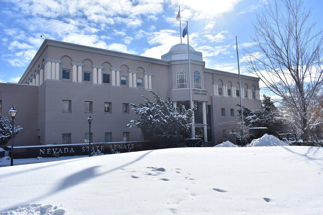 Vista del edificio legislativo. Lunes 18 de febrero de 2019 en la Legislatura de Nevada, en Carson City. Foto Anthony Avellaneda / El Tiempo.