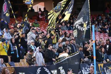 Las Vegas Lights FC ha tenido una pretemporada prometedora ante equipos de la MLS. Sábado 16 de febrero de 2019 en Cashman Field. Foto Anthony Avellaneda / El Tiempo.