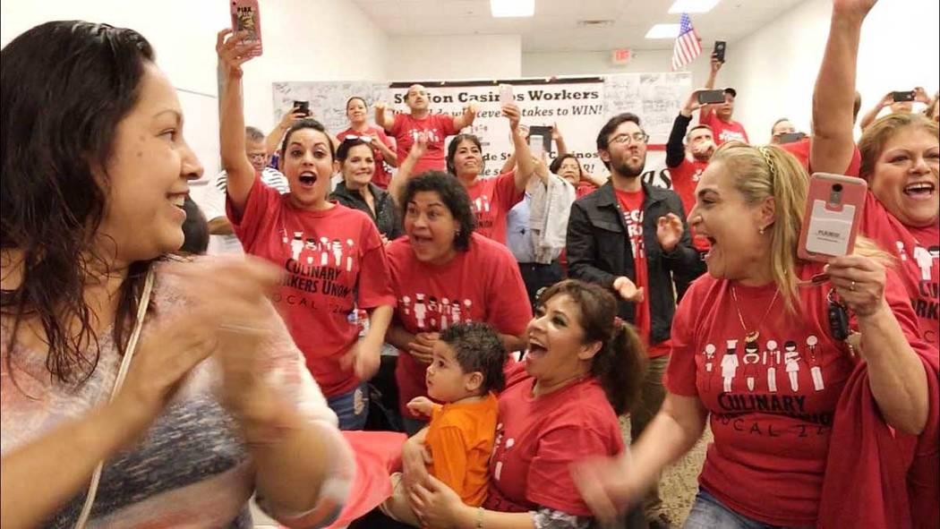 La Unión Culinaria es la organización de inmigrantes más grande de Nevada con miembros que vienen de 178 países y hablan más de 40 idiomas diferentes. Foto Cortesía.