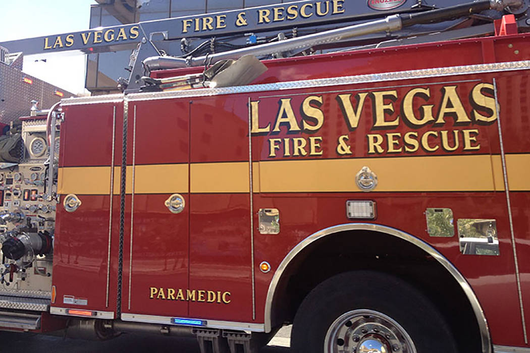 Una bombero de Las Vegas ha presentado una demanda por acoso sexual contra las ciudades de Las Vegas, Henderson y otros 11 bomberos. (Las Vegas Review-Journal)