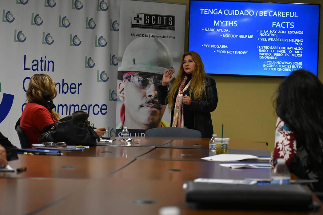 La Oficina de Protección al Consumidor para Minorías, realizó un foro informativo para informar a empresarios hispanos sobre cómo pueden evitar penalidades. Miércoles 6 de marzo de 2019 en la ...
