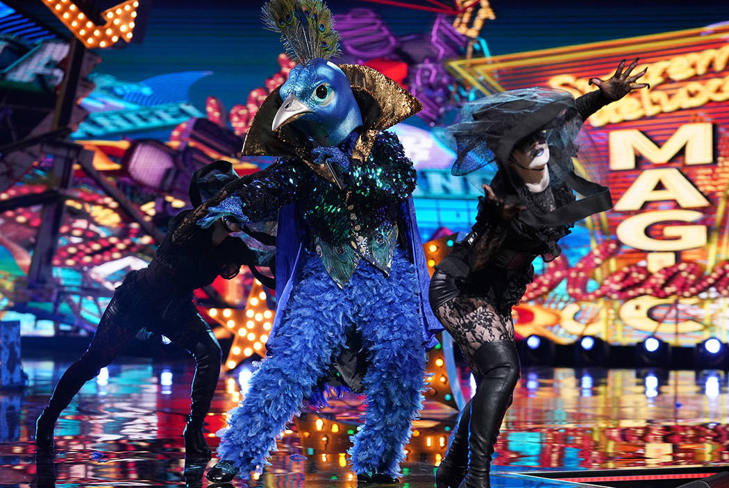 "Se ve al Pavo real ""The Masked Singer"" (Michael Becker / Fox)"