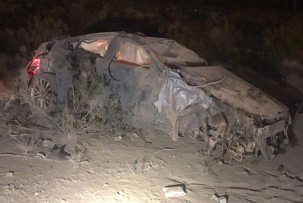 Un hombre y una mujer murieron el 27 de julio de 2018, luego de que el automóvil en el que se encontraban se vio involucrado en un accidente de vuelco en la carretera interestatal 15 cerca de Pri ...