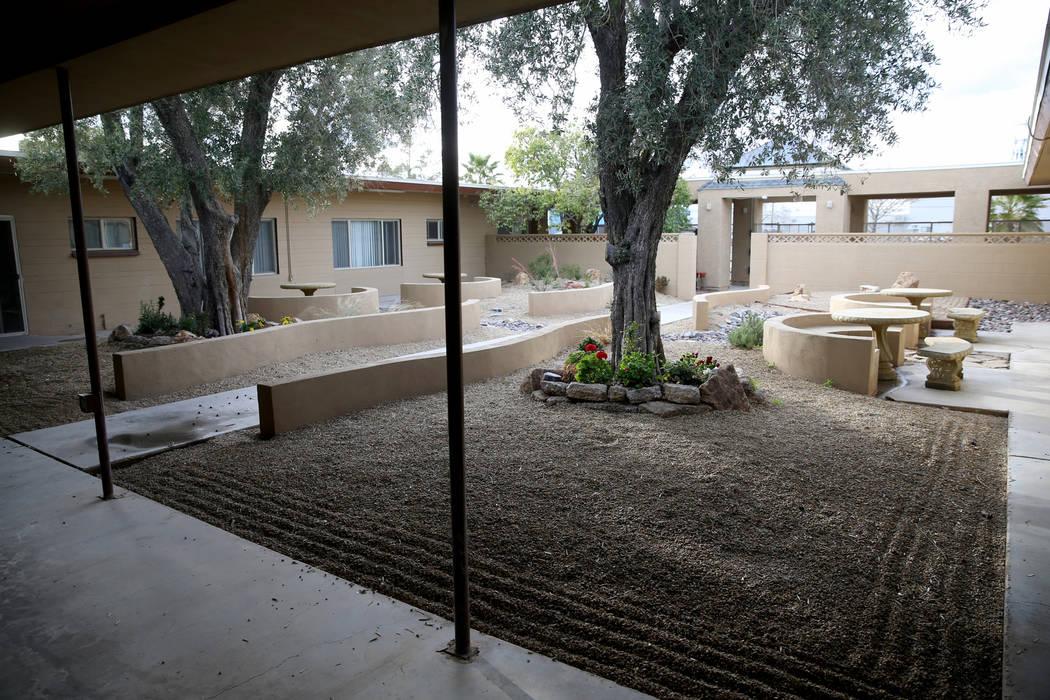Un área de relajación en el campus de mujeres y niños de WestCare Nevada en Las Vegas el miércoles 6 de marzo de 2019. (K.M. Cannon / Las Vegas Review-Journal) @KMCannonPhoto