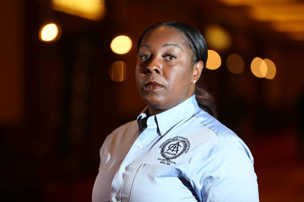 La jefa del Departamento de Policía de Henderson, LaTesha Watson, ha sido puesto bajo licencia administrativa hasta nuevo aviso, anunció la ciudad el jueves 14 de marzo. (Erik Verduzco Las Vegas ...
