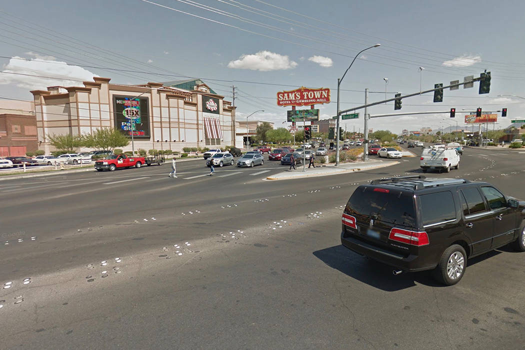 Boulder Highway y South Nellis Boulevard. (Imagen de Google Street View)