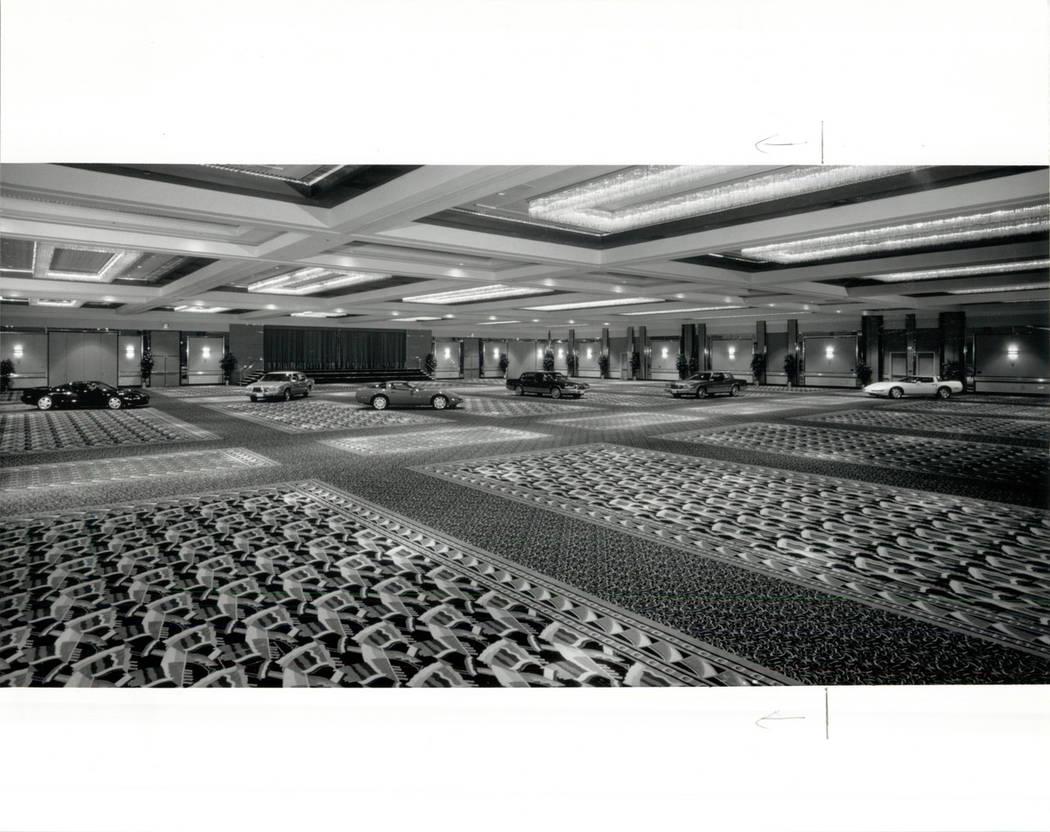 Hotel Stardust 1991 GLOBO EN EL CENTRO DE CONFERENCIAS DE STARDUST (FOTO DE ARCHIVO DEL RJ)