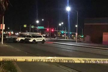 Una pelea el viernes 15 de marzo de 2019 dejó un hombre muerto en North Las Vegas. (Lukas Eggen / Las Vegas Review-Journal)