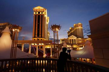 Caesars Palace en Las Vegas. (AP Photo/John Locher)