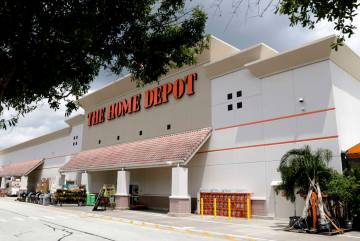 Tienda de Home Depot en Orlando, Fla. (AP Photo/John Raoux)