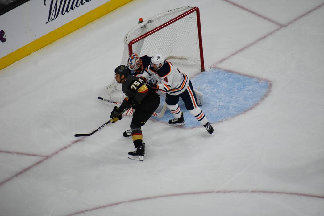 Vegas Golden Knights recibieron la visita de Edmonton Oilers, un duelo entre equipos de la División Pacífico. Domingo 17 de marzo de 2019 en T-Mobile Arena. Foto Anthony Avellaneda / El Tiempo.