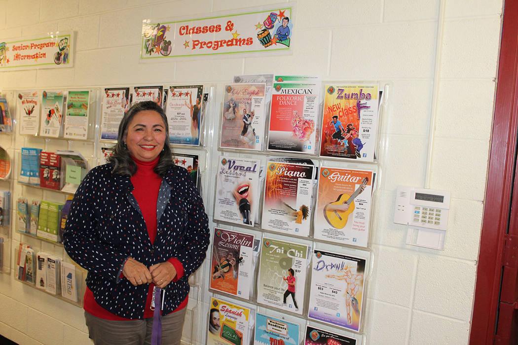 Irma Varela, directora de programación cultural del Winchester Dondero, comentó que tienen 20 alumnos en promedio por clase. Viernes 15 de marzo de 2019 en el Centro Cultural Winchester Dondero. ...