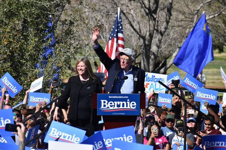 El aspirante presidencial Bernie Sanders aseguró que su campaña se basará en la justicia social, racial, económica y ambiental. Sábado 16 de marzo de 2019 en Morrell Park. Foto Anthony Avella ...