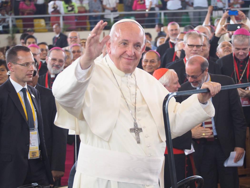ARCHIVO. Santiago, 30 Dic 2018 (Notimex-Archivo).- La visita del Papa Francisco a Chile, la profunda crisis de la iglesia Católica, que derivó en la renuncia de todos los obispos chilenos, marca ...