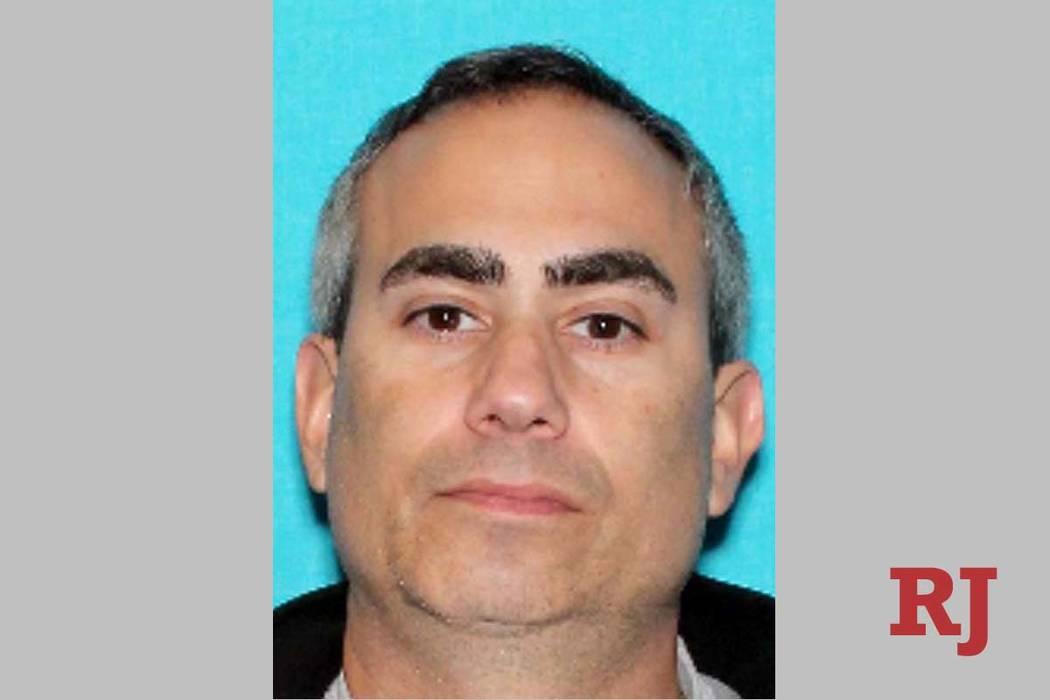 Michael Cohen fue asesinado a tiros por un oficial del Departamento de Policía Metropolitana de Las Vegas tras un robo a mano armada en Bellagio el 15 de marzo de 2019. (Departamento de Policía ...