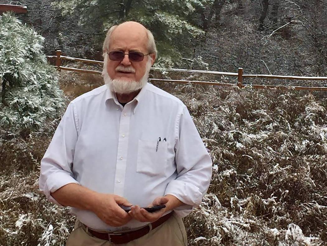 Dr. Thomas Burchard (Cortesía de Judy Earp)