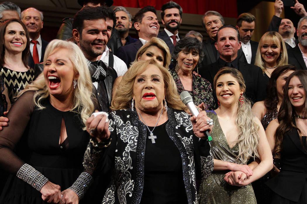 ARCHIVO. México, 19 Feb 2019 (Notimex-Guillermo Granados).- La productora Carla Estrada presen ...