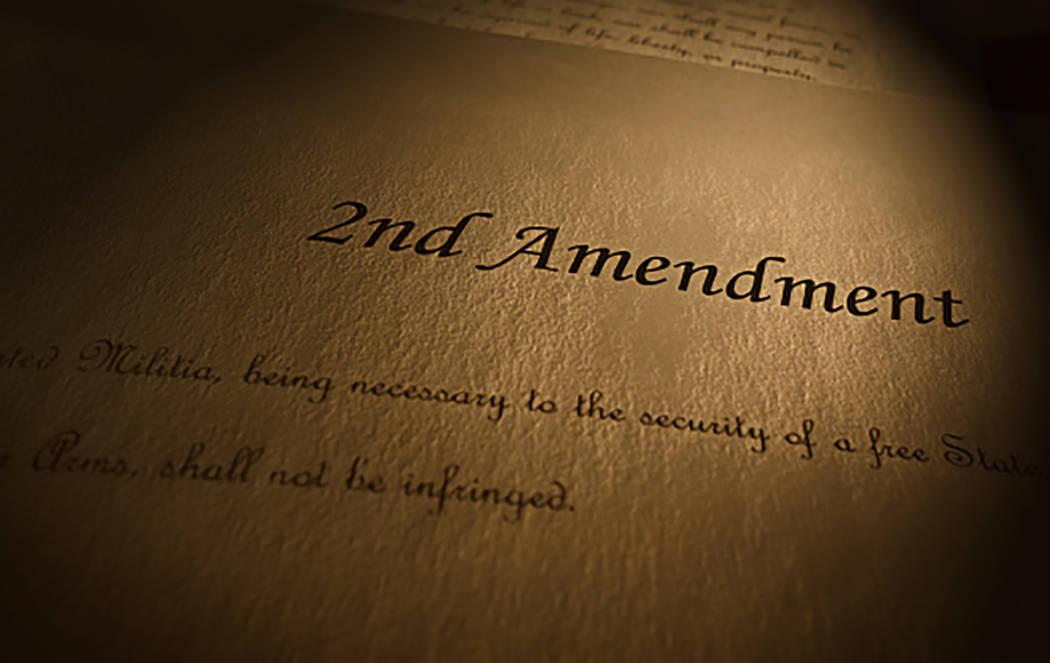 """Thinkstock Durante décadas, los defensores del """"control de armas"""" han (desde detrás del resistente escudo de la Primera Enmienda) luchado en contra de la mala interpretación intencional de, o i ..."""