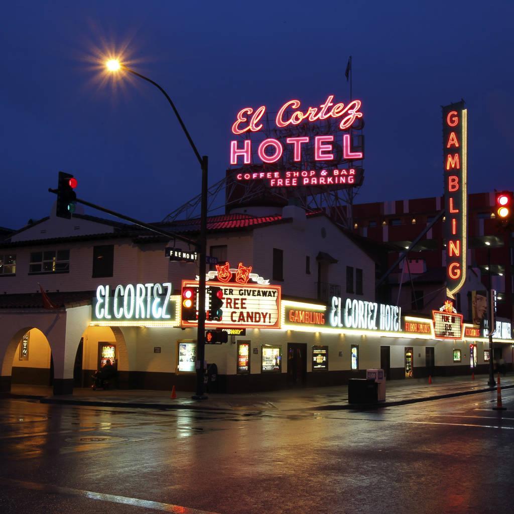 El casino más antiguo en funcionamiento continuo de Las Vegas, El Cortez, se encuentra en la esquina de las calles Fremont y 6 en el centro de Las Vegas. (K.M. Cannon / Las Vegas Review-Journal)