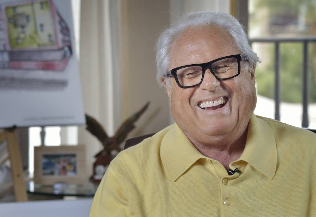 Kenny Epstein, propietario de El Cortez, aparece en una entrevista en la propiedad en 600 E. Fremont St. en Las Vegas el miércoles 6 de marzo de 2019. (Bill Hughes / Las Vegas Review-Journal)