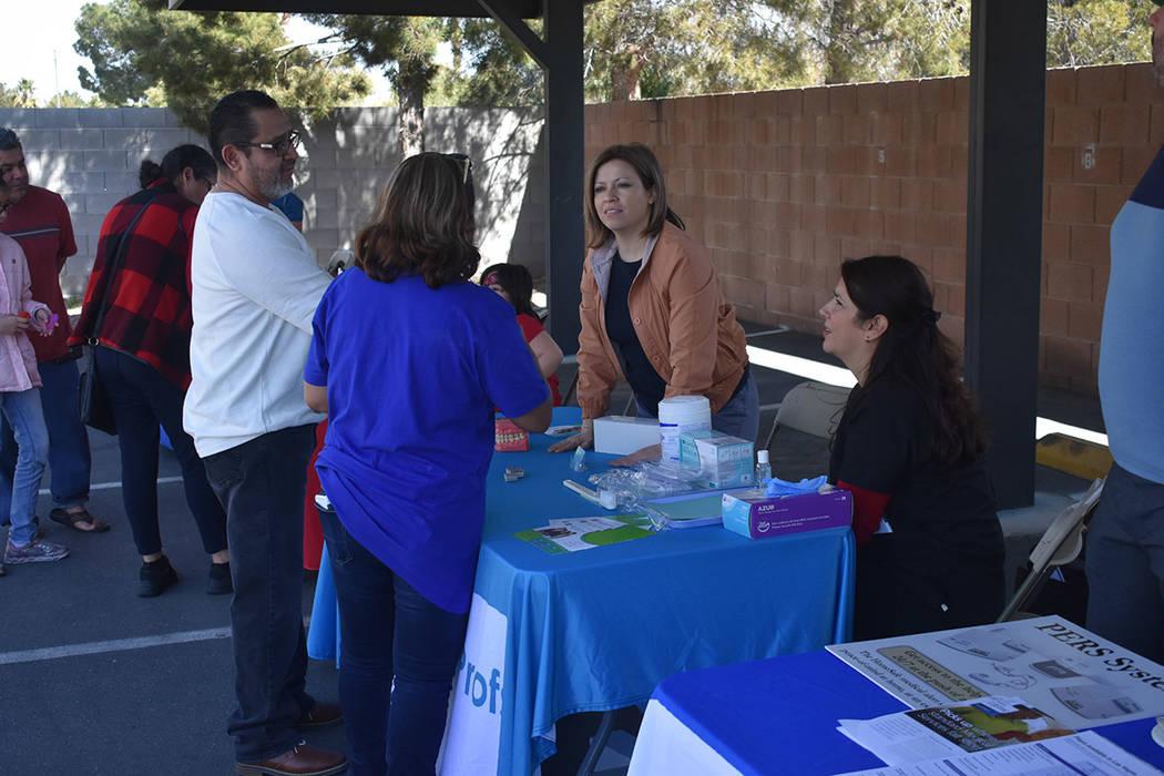Más de 10 agencias y organizaciones brindaron información sobre recursos médicos a bajo costo. Sábado 23 de marzo de 2019 en Alliance Against Diabetes. Foto Anthony Avellaneda / El Tiempo.