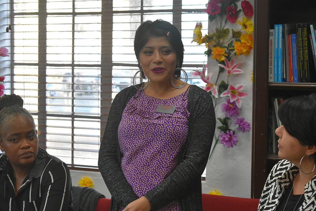 Brenda Hernández habló de su experiencia participando con organizaciones. Jueves 28 de marzo ...